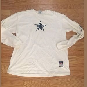 NFL APPAREL White Dallas Cowboys Long Sleeve Top